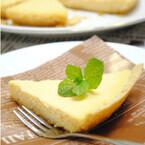バニラアイスでつくる「フライパンチーズケーキ」