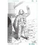 滋賀県守山市で漫画「宇宙兄弟」の複製原画展 - プラネタリウムと連携