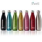 24時間の保冷・12時間の保温が可能な水筒「S'wellボトル」が全12色で登場