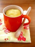 朝食にぴったり! コーンスープの素を使った電子レンジ蒸しパン