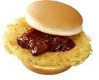 ロッテリア×麺屋武蔵コラボ! 麺をはさむ「麺屋武蔵ラーメンバーガー」発売