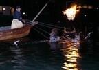 京都府・嵐山で、屋形船に乗って鵜飼を観覧できる「嵐山 鵜飼」が開催