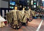 東京都・銀座で能楽金春祭り。銀座金春通りでの路上能披露や能楽体験講座も