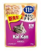 高齢猫の主食はカリカリからウェットフードになる傾向に-カルカンパウチ新発売