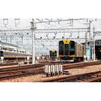 駅長制服を着て撮影も!「鉄道の日はんしんまつり2013」開催 - 阪神電気鉄道