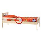 イケアの子ども用ベッドの一部で怪我の恐れ、ただちに日付スタンプの確認を