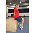 家でできる部分痩せ筋トレ (7) オフィスで座ったままできる、足首を細くする簡単筋トレ