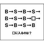 【エンタメCOBS】【クイズ】ナゾダーラボ! 第16話「B→S→B→S…最後は?」