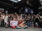 縁結びで行列ができる東京大神宮で「HAPPY BIRTHDAY」が恋のヒット祈願!