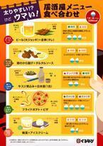 ぐるなび、「太りやすいけどウマい」居酒屋メニュー食べ合わせ公開「鶏からタルタルソース」「フライドポテトとピザ」