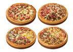 4つのピザを1 枚で! ピザハットから新4(フォー)ピザ4種新発売