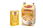 「森永ミルクキャラメル」が紅茶で楽しめる!「リプトン ミルクキャラメルティー」登場