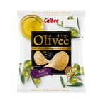 カルビー、オリーブオイルだけで揚げたポテトチップス「Olivee ソルト」発売