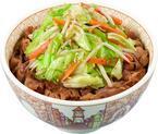 たっぷり野菜で野菜不足を解消! すき家「塩だれ野菜牛丼」など新発売