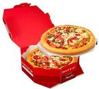 ピザハット、4(フォー)ピザMサイズ2枚を特製ボックスに入れた「ダブルボックス」発売