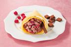 生チョコスティックを添えたアイスクリームクレープ「生チョコ&ベリー」登場-コールド・ストーン
