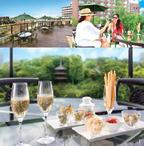 都会のオアシスで夏を楽しむ! ホテル椿山荘東京の空中庭園で「シャンパン・ガーデン2014」開催