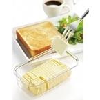 パンケーキにぴったり! 5gにバターをカットできるバターケースをセシールが発売