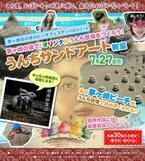 最高におばかなイベント!「うんちサンドアート教室 in 茅ヶ崎ほのぼのビーチフェスティバル」7月27日に開催