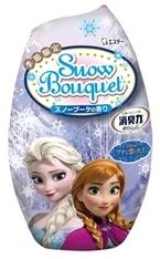 """「消臭力」シリーズに""""アナ雪""""が新登場! 香りは白銀の世界をイメージした「スノーブーケの香り」"""