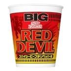 日清、マンチェスター・ユナイテッドとのコラボで「カップヌードル RED DEVIL ビッグ」「日清焼そばU.F.O. RED DEVIL ビッグ」を発売