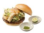 はんなり京都の味「モスの匠味 九条ねぎのかき揚げバーガー」