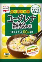 ミドリムシ入りで栄養豊かな新食材! 永谷園が「ユーグレナ雑炊の素」を発売