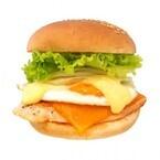 「エッグベネディクト」をイメージしたフレッシュネスのハンバーガーが、「サーモンエッグチーズバーガー」に進化した