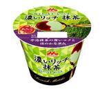 濃い抹茶にあんこソースをプラスー森永乳業人気シリーズ「濃いリッチ 抹茶」がリニューアル