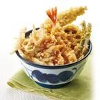 天丼てんやの季節限定春メニューは、プチプチ食感の白魚とわさび風味純和鶏