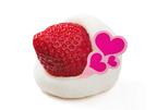 柿安 口福堂が、2015(いちご)年新商品『ホワイト生チョコいちご大福』をバレンタイン&ホワイトデー限定販売