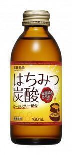 北海道産はちみつ「百花蜜」と炭酸のコラボ! ローヤルゼリーも入った「はちみつ配合炭酸飲料」が発売