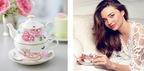 人気のロイヤルアルバート「ミランダ・カー」デザイン1周年記念 華やかなティーアイテムを追加