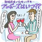 """""""結婚前提""""で付き合って半年、プロポーズはいつ?"""