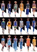 ユマコシノのオリエンタルな雰囲気漂う2013春夏コレクション