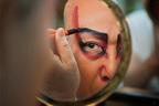 グッチ銀座で、歌舞伎役者・中村吉右衛門の写真展 - 題字を手掛けたのは書道家・紫舟