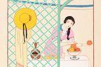 練馬で「鹿島茂コレクション3 モダン・パリの装い」展 - 19~20世紀初頭に描かれた美しきパリジェンヌ