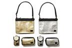 ヘッドポーター「BLACK BEAUTY」からゴールド&シルバーのiPhone・iPad対応バッグ
