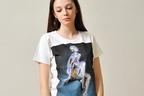 空山基の代表作ロボットレディをプリント、グラニフより新作アートTシャツ発売