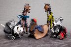 ジュン アシダから、芦田多恵デザインのキュートな動物のチャームがデビュー - 東北復興を支援