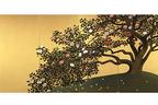 """展覧会「輝ける金と銀」渋谷・山種美術館で開催 - 日本画家にとっての""""金""""と""""銀""""の変遷"""