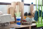 表参道でトラフ建築設計事務所のガレージセール - 素材サンプル、本など仕事を形づくった作品