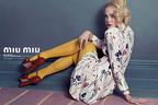 ミュウミュウが2014年春夏の広告キャンペーンに、エル・ファニングやエリザベス・オルセンを起用