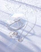 ジュピターの新シルバージュエリー、パールやストーンと組み合わせたネックレスやリング
