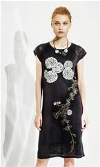 伊藤若冲の絵をモチーフにしたドレスやスカジャン、ファイブフォックスが全国で発売 - 生誕300年記念