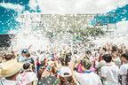 「泡フェスTOKYO2016」新豊洲で開催 - 国内最大の泡キャノン、真っ白に染まる泡スライダー