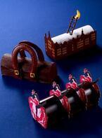 ジャン=ポール・エヴァンの16年クリスマスケーキ - フランス的な要素を4つのビュッシュに変えて