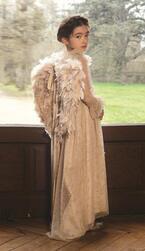 """仏の子供服ブランド「ボンポワン」からクリスマスに向けた""""天使の羽""""やプリンセスドレス"""