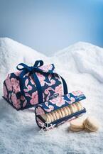 ラデュレのクリスマス - ベルベットの花が舞うマカロンボックス、ココナッツ×ライムのマカロン限定発売