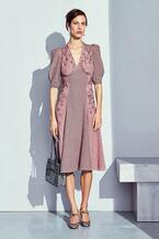 ボッテガ・ヴェネタ 17年ウィメンズプレフォール - アースカラーで、秋らしくエレガントな装い